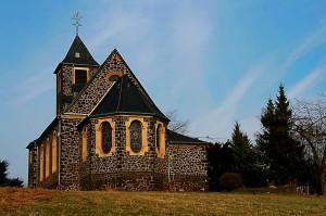Wolken Kath. Kirche